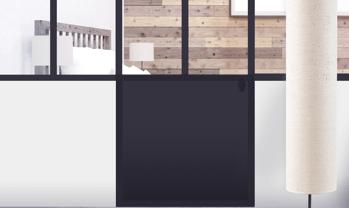 porte verriere - Configurez en ligne votre verrière sur mesure